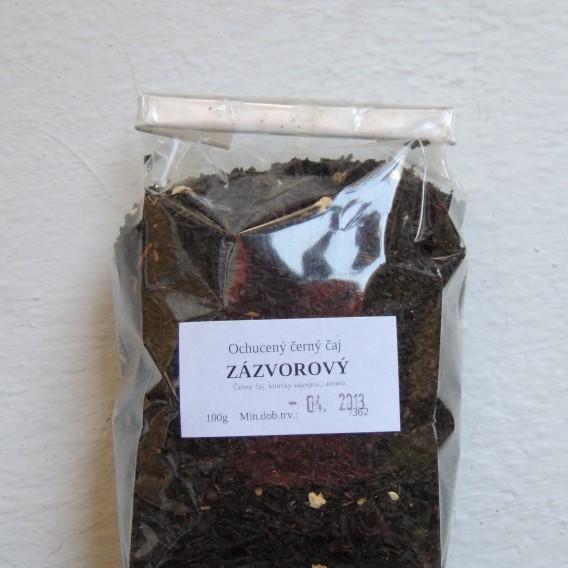 Zázvorový černý (čertův čaj)