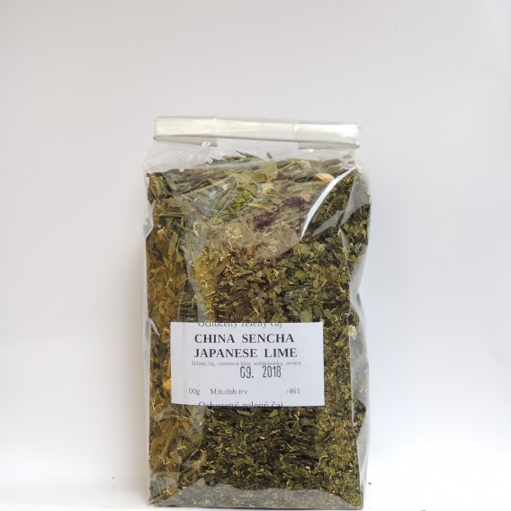 China sencha Japanese Lime