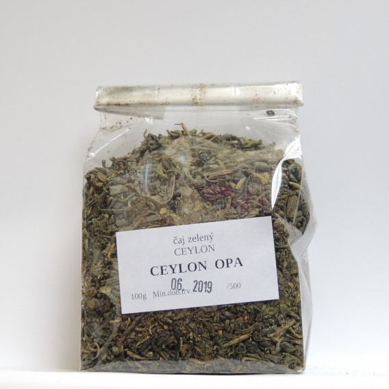 Ceylon zelený OPA