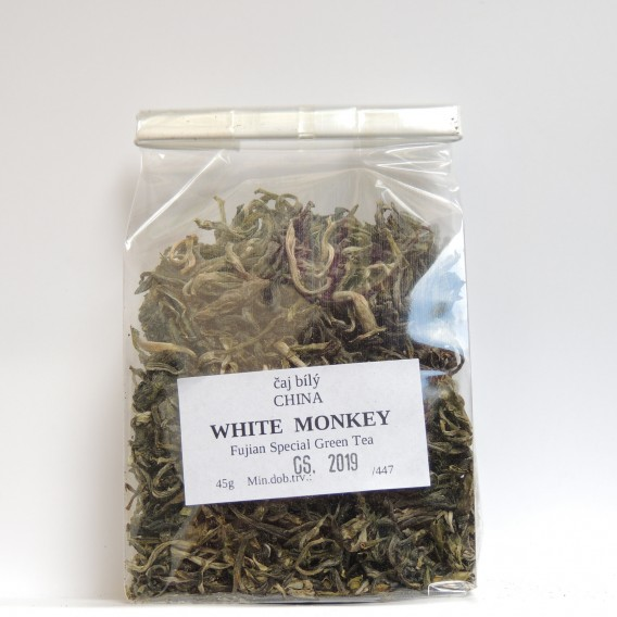China WHITE MONKEY - Fujian Special Green Pekoe