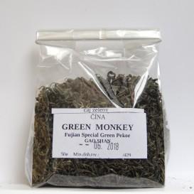 China Fujian GAO SHAN GREEN MONKEY- Special Green Pekoe