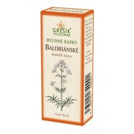 Baldriánské kapky 50 ml