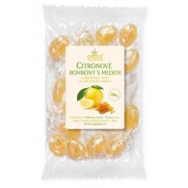 Citronové bonbóny s medem 100g